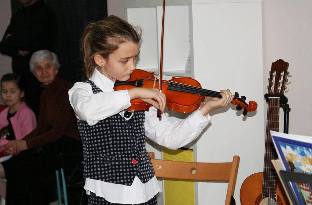 Świąteczny Koncert Kolęd w wykonaniu naszych uczniów wWyszkowie / 2015