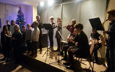 Świąteczny Koncert Kolęd w wykonaniu naszych uczniów w Wyszkowie / 2018
